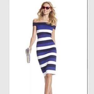 $89 New York & Company bandage sheath dress L
